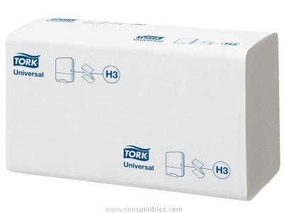 TORK RECAMBIO TOALLAS CAJA 15 UD 230X230 266 SERVICIOS 1 CAPA PARA H3 SYSTEM 290158