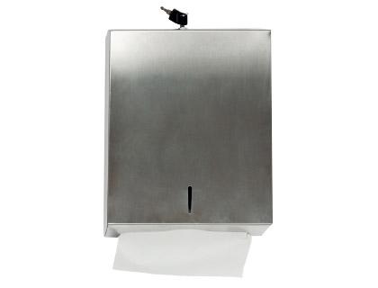 Higiene DISPENSADOR Q-CONNECT DE TOALLITAS DE PAPEL ACERO INOXIDABLE 283X100X365 MM