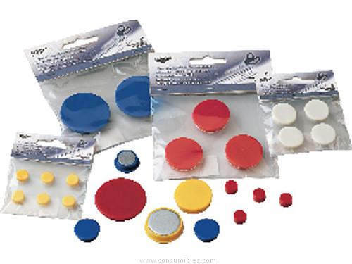 Señalizacion FAIBO IMANES BOLSA 6 UD 10 MM BLANCO 60-10-01