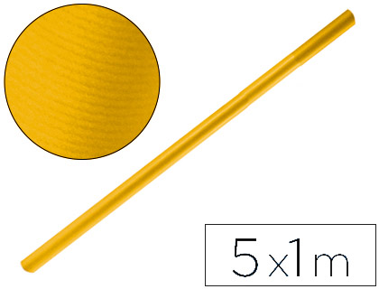 Papel kraft PAPEL KRAFT LIDERPAPEL AMARILLO ORO ROLLO 5X1 MT