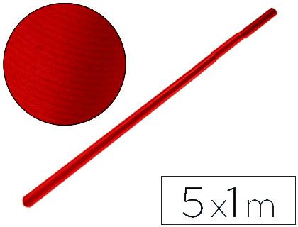 Embalaje PAPEL KRAFT LIDERPAPEL ROJO CHERRY ROLLO 5X1 MT