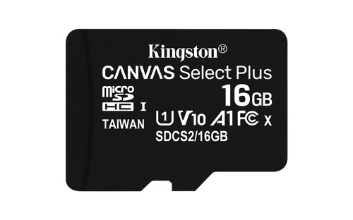 SD MEMORIA 128GB CANVAS SELECT PLUS MICROSD MULTI PACKS OF 3 KINGSTON