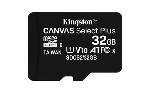 SD MEMORIA 32GB CANVAS SELECT PLUS MICRO SD KINGSTON