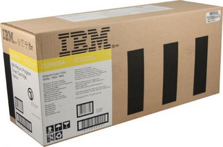 CARTUCHO DE TONER AMARILLO RETORNABLE IBM