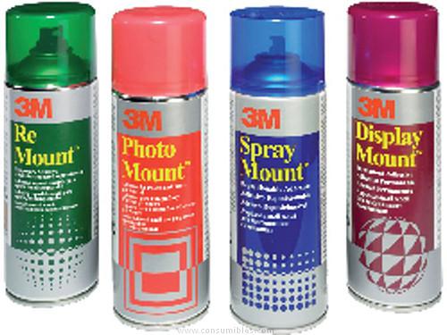 Adhesivos 3M ADHESIVO SPRAY MOUNT SPRAY 400 ML MAQUETACIÓN Y COMPOSICIÓN DE272963831