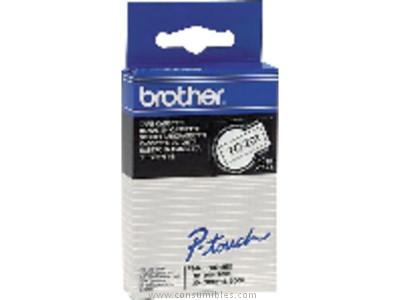 BROTHER CINTA ROTULADORA TC 7,7M 9 MM NEGRO/BLANCO TC291