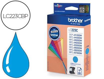 Comprar Cartucho de tinta LC223CBP de Brother online.