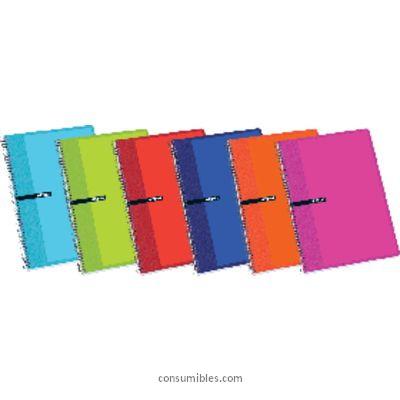 Comprar Cuadernos con espiral gama escolar 774882 de Enri online.