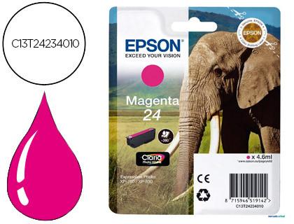Epson Cartucho de tinta magenta C13T24234012 T2423 360 Copias 4.6ml