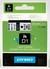 cinta negro sobre Blanco 53713 24 mm x 7m Estándar -D1-cinta Dymo