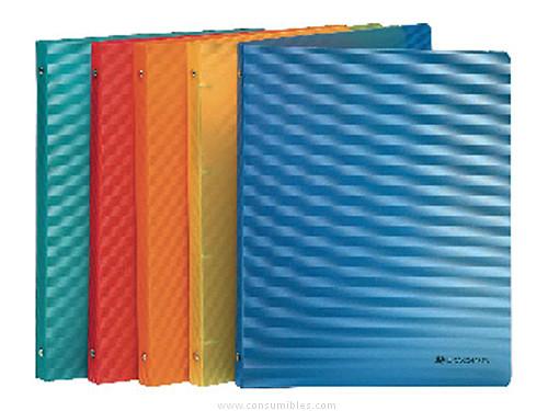 Comprar Carpetas anillas polipropileno 784962(1/10) de Exacompta online.