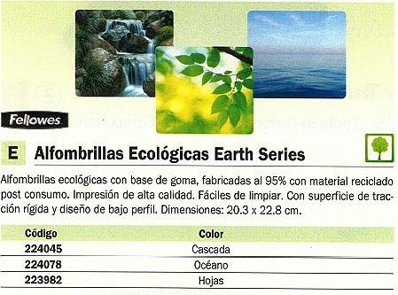 FELLOWES ALFOMBRILLA PARA RATON ECOLOGICA BASE GOMA OCEANO 5903901