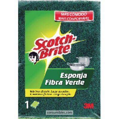 Comprar Esponjas fibra verde 792892 de 3M online.