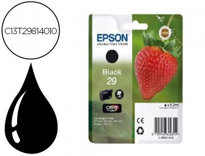 Cartucho de tinta negro C13T29814012 T2981 175 páginas 5.3ml