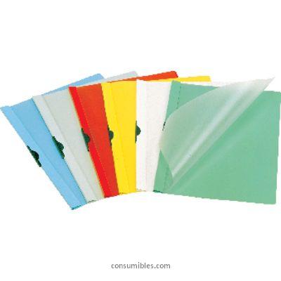 Dossiers con clip ENVASE DE 25 UNIDADES DURABLE DOSSIERS CLIP DURACLIP CAPACIDAD 60 HOJAS A4 BLANCO PVC 2209-02