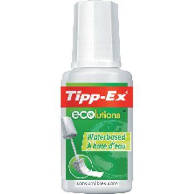 Corrector liquido TIPP-EX CORRECTOR LIQUIDO ECOLUTIONS APLICADOR ESPONJA 20 ML 880682