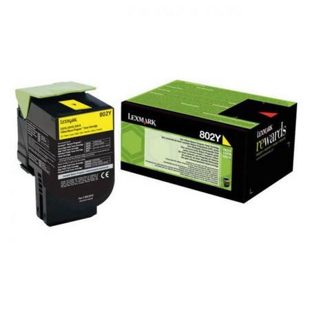 Comprar cartucho de toner 80C20Y0 de Lexmark online.
