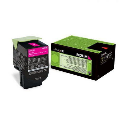Comprar cartucho de toner 80C2HM0 de Lexmark online.