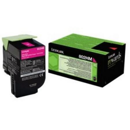 Comprar cartucho de toner 80C2HME de Lexmark online.