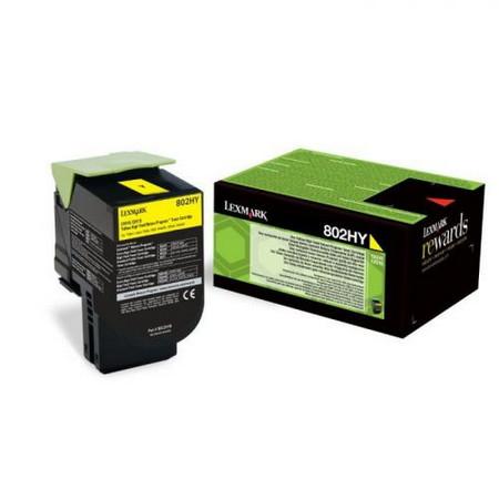 Comprar cartucho de toner 80C2HY0 de Lexmark online.