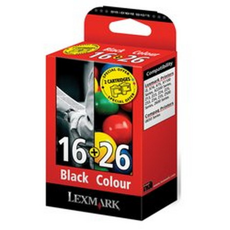 Comprar Pack 2 cartuchos de tinta 80D2126B de Lexmark online.