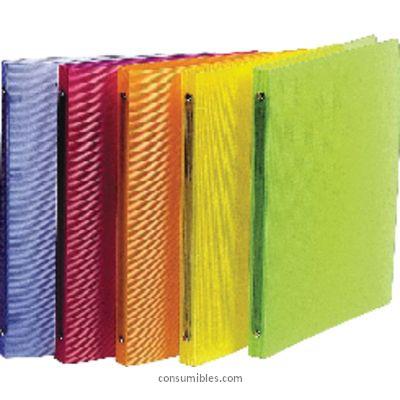 Comprar Carpetas anillas polipropileno 810037 de Exacompta online.