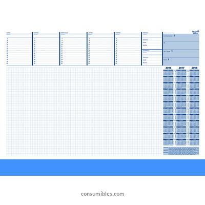 Plannings semanales QUO VADIS PLANNING SEMANAL 42X59,5 PAPEL 40 HOJAS 24501214MQ