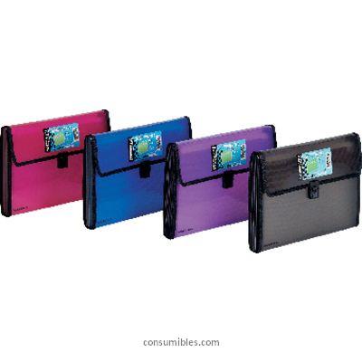 Comprar Clasificadores acordeon con fuelle 817612 de Foldermate online.