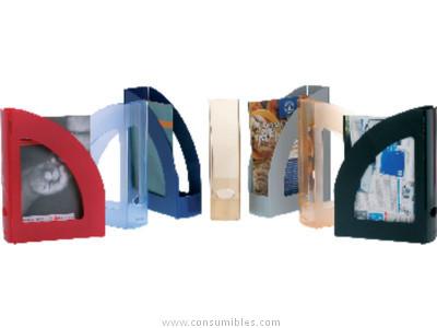 ENVASE DE 6 UNIDADES ARCHIVO 2000 REVISTERO AZUL A4 2003AZ