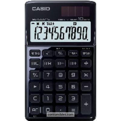 Calculadoras de bolsillo CASIO CALCULADORAS SL-1000TW 10 DIGITOS SOLAR Y PILA SL-1000TW BK