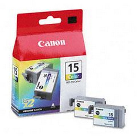 CARTUCHO DE TINTA COLOR PACK 2 CANON BCI-15CL