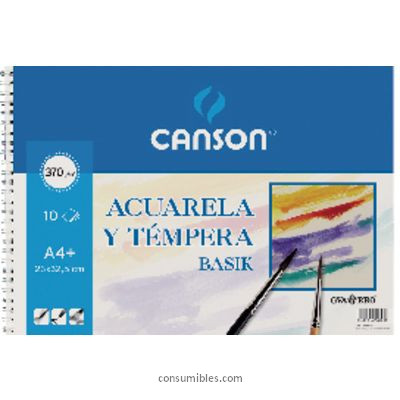 Comprar Papel acuarela 822655(1/10) de Canson online.