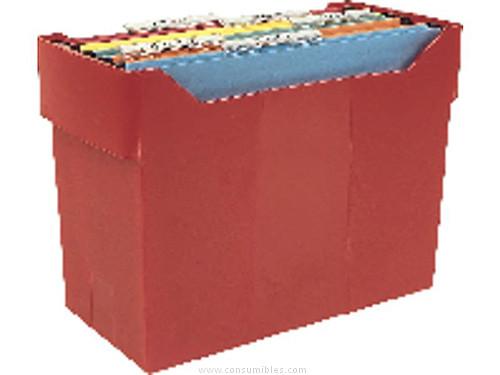 LEITZ SOPORTE CARPETAS COLGANTES ARCHIBOX 365X170X260 AZUL 20 CARPETAS ASAS TRANSPORTE 2007AZ