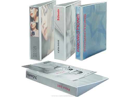 Comprar Carpetas anillas personalizables 830080 de Esselte online.