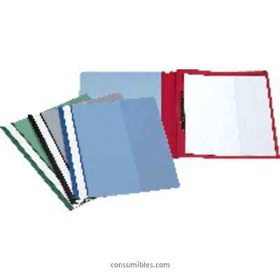 Dossiers con fastener ESSELTE DOSSIER CAJA 50 UD A4 PVC CON FASTENER VERDE 12605
