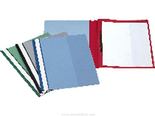 Dossiers ESSELTE DOSSIER CAJA 50 UD A4 PVC CON FASTENER AZUL 12606