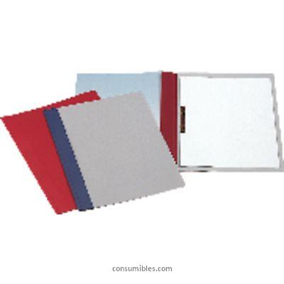 Dossiers con fastener ESSELTE DOSSIER CAJA 50 UD A4 PVC CON FASTENER NEGRO 12609