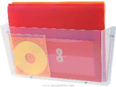 DEFLECTO EXPOSITOR IRROMPIBLE A4 235X183X80 63201