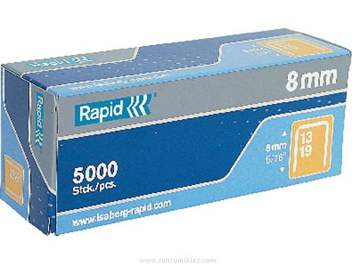 RAPID GRAPAS 5000 UD 13/8 GALVANIZADA 11835600