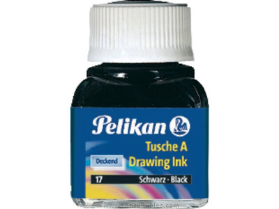PELIKAN TINTA CHINA 10 ML BERMELLÓN 201525