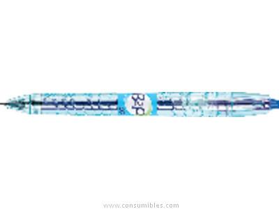 ENVASE DE 10 UNIDADES PILOT ROLLER B2P AZUL TRAZO 0,4 MM TINTA GEL NB2P7A