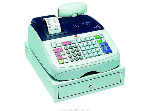 Registradoras OLIVETTI CAJA REGISTRADORA ECR6800 ALFANUMÉRICA 2 DISPLAYS C8010A
