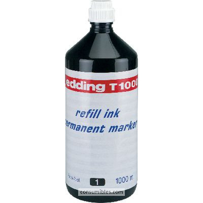 Tinta de rellenado EDDING FRASCO DE TINTA T-1000 AZUL 1000 ML T1000-03
