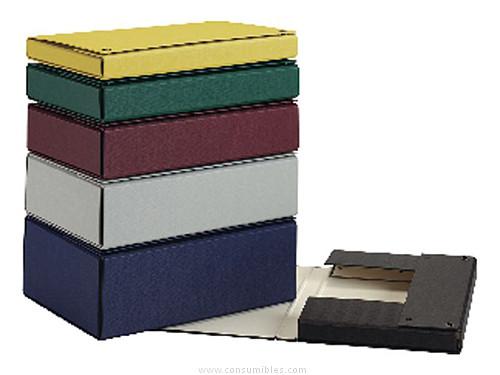 Carpetas de proyectos ENVASE DE 2 UNIDADES PARDO CARPETAS PROYECTO LOMO 200 MM NEGRA PVC 972001