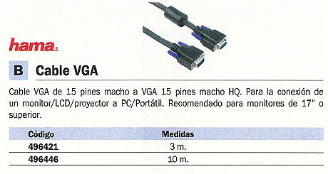 Comprar Pm 10M 496446 de Hama online.