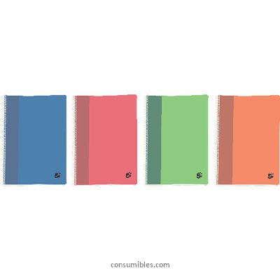 Comprar Cuadernos con espiral 902679(1/4) de 5 Estrellas online.