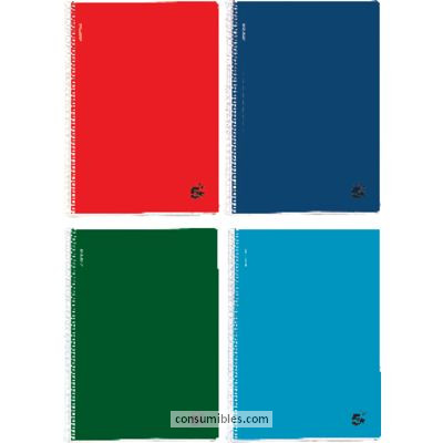 Comprar Cuadernos con espiral microperforados 902687(1/5) de 5 Estrellas online.