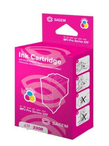 Cartucho de tinta CARTUCHO DE TINTA COLOR SAGEM ICR-330R