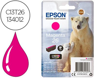 Epson Claria Premium Cartucho Magenta 26