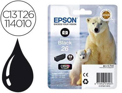 Epson Claria Premium Cartucho foto Negro 26